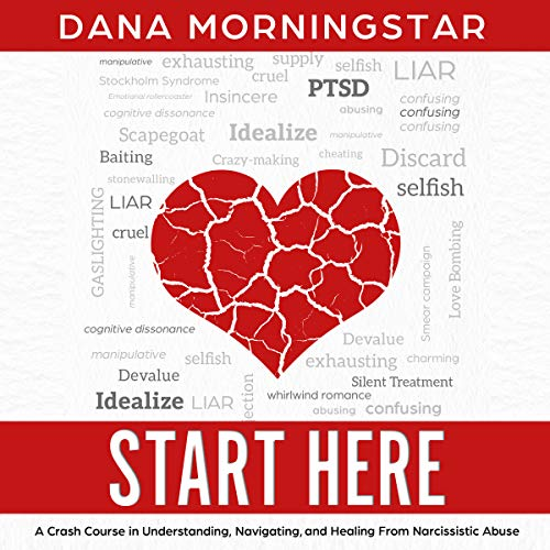 Start Here: A Crash Course in Understanding, Navigating, and Healing From Narcissistic Abuse audiobook cover art