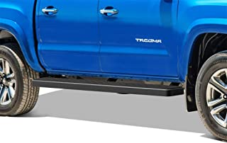 APS iBoard (Black Powder Coated 6 inches) Running Boards Nerf Bars Side Steps Step Rails Compatible with 2005-2020 Toyota Tacoma Double Crew Cab Pickup 4-Door