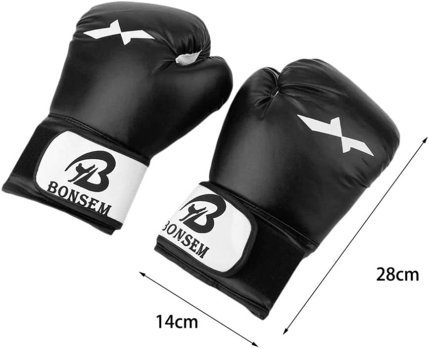 iAlegant Boxing Gloves,Synthetic Leather Kickboxing Gloves for Sparring Muay Thai and Heavy Bag