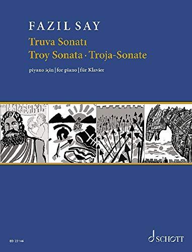 Truva Sonatı: (Troy Sonata / Troja-Sonate). op. 78. Klavier. Einzelausgabe.