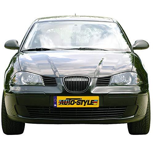 Autostyle ER-SG353B Grill zonder merkembleem Seat Ibiza/Cordoba 6L 2002-2008 (met zwarte rand)