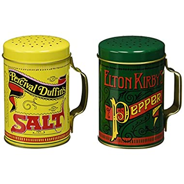 Norpro Nostalgic Salt and Pepper Shakers, With Handles, 2 Piece Set