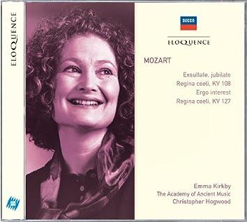 Mozart: Exsultate, Jubilate;  Regina Coeli; Ergo Interest