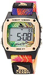 A very colorful Shark brand digital Freestyle watch.