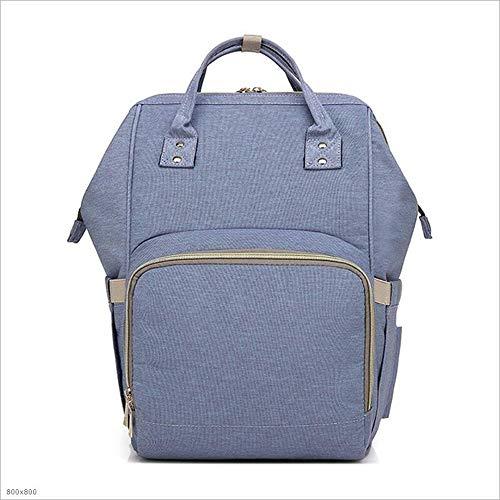 SHENAISHIREN Baby Wickelrucksack Wickeltasche-mit Wickelunterlage Multifunktional GroßeKapazität Babytasche Reisetasche for Unterwegs (Color : Violet)