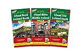 Irland, Autokarten-Set 1:150.000: 3 Blätter in Kunststoff-Hülle (freytag & berndt Auto + Freizeitkarten)