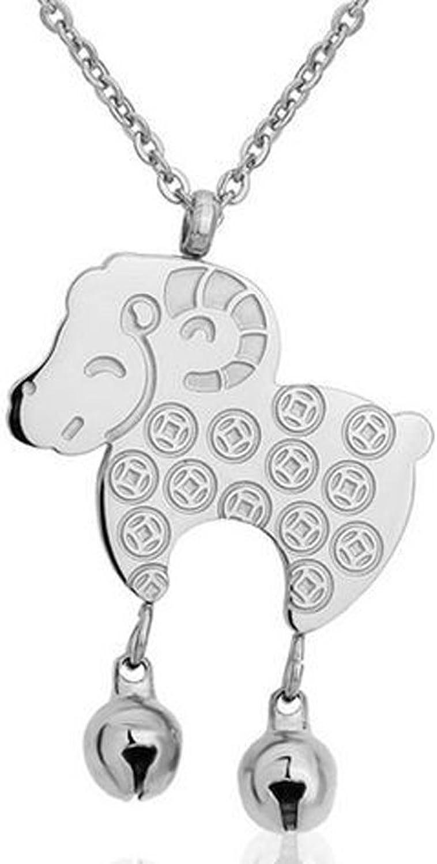 SaySure - titanium steel necklaces cute sheep bells pendants pendants pendants trend B018GS2M3A  Vielfältiges neues Design a1c3a0