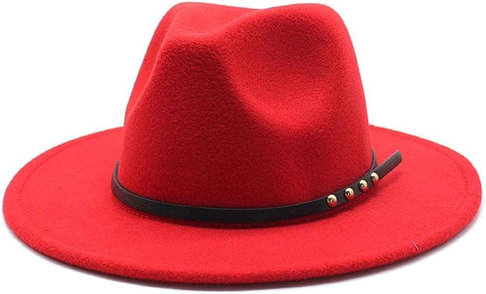 Women's and Men's Fedora Hat Classic Elegant Wo 5 ☆ very popular Brim 25% OFF Panama Wide