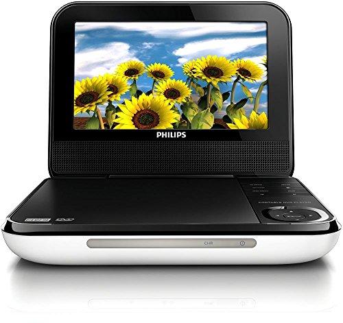 PHILIPS PD700/37 – Reproductor portátil (Portátil, Negro, Blanco, CD de Audio, Vídeo de CD, SVCD,…