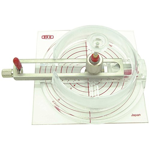 NT Cutter h1310508 Coupe-CERCLES IC 1500 P, AVEC 6 Lames Cutting, Multicoloured, Talla unica