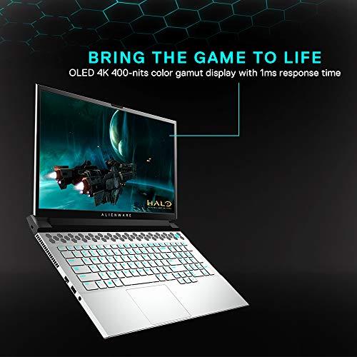 Dell Alienware m15(R3) 15.6-inch UHD Gaming Laptop (10th Gen Core i7-10750H/16GB/1TB SSD/Windows 10 Home & MS Office/8GB NVIDIA RTX 2070 Graphics), Lunar Light