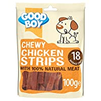 Made with 100% chicken breast meat Healthy treat containing only 2% fat No artifical colours, flavours or peservatives