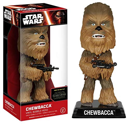 Star Wars Episode VII Wacky Wobbler Cabezón Chewbacca 15 cm Funko Bobble heads