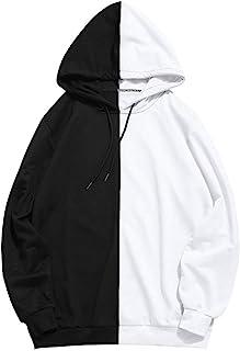 iLXHD Men`s Casual Patchwork Slim Fit Hoodie Outwear Blouse Sport Sweatshirt
