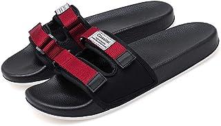 Wilindun 夏季新款韩版男士居家居室内室外拖鞋防滑一字拖鞋