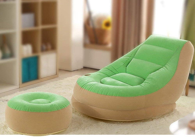 QTQZ Brisk- Beanbag Single Balcony Nap Inflatable Sofa Bed Bedroom Creative Leisure Dorm Chair Sofa Stool (color Optional) (color  D)