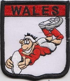 Flaga Walii Rugby Union Flag haftowana naszywka odznaka