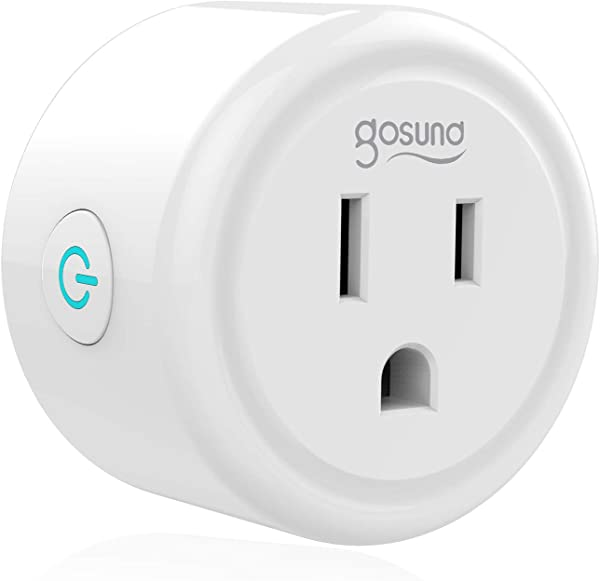 Mini Smart Plug Outlet Compatible With Alexa Google Assistant IFTTT No Hub Required ETL And FCC Listed Only 2 4GHz Wifi Enabled Remote Control Smart Socket By Gosund
