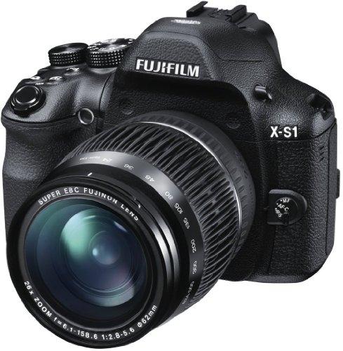 """Fujifilm FinePix X-S1 - Cámara compacta de 12 MP (Pantalla de 3"""", Zoom óptico 26x, estabilizador de Imagen), Color Negro"""