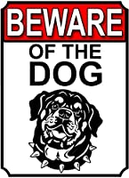 猛犬注意金属ポスターレトロプラーク警告ブリキサインヴィンテージ鉄絵画装飾オフィスの寝室のリビングルームクラブのための面白いハンギングクラフト