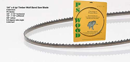 new arrival Timber Wolf popular 72 x 1/4 x 6 tpi band saw online sale blade outlet online sale