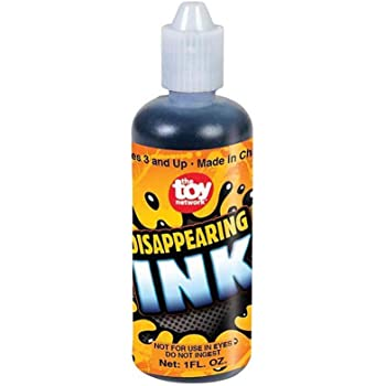 Rhode Island Novelty Disappearing Ink in Squeezable Tube, 1 fl oz (1-Unit), Blue