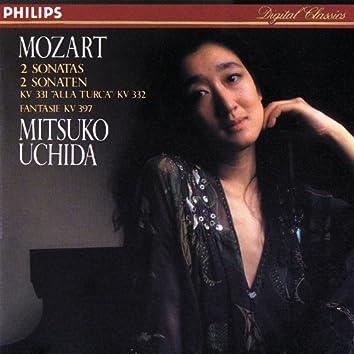 モーツァルト:ピアノ・ソナタ第11番《トルコ行進曲付き》他