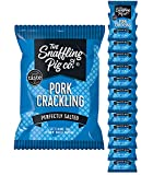 Snaffling Pig Perfectly Salted Pork Crackling (12 x 45g Packets)