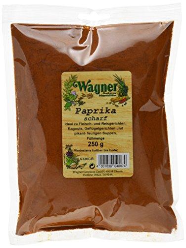 Wagner Gewürze Paprika scharf (1 x 250 g)