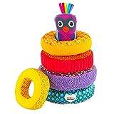 anneaux en tissus jouet enfant pour voyage