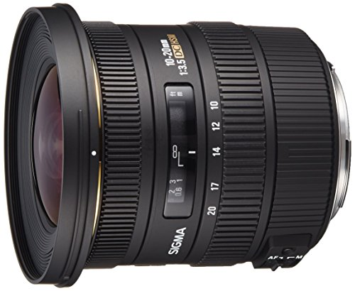 Sigma 10-20mm f/3.5 EX DC HSM ELD SLD Aspherical Super Wide Angle Lens for Canon Digital SLR...