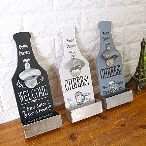 Hemore - Abridor de botellas de cerveza, decoración de pared, cafetería, bar, restaurante