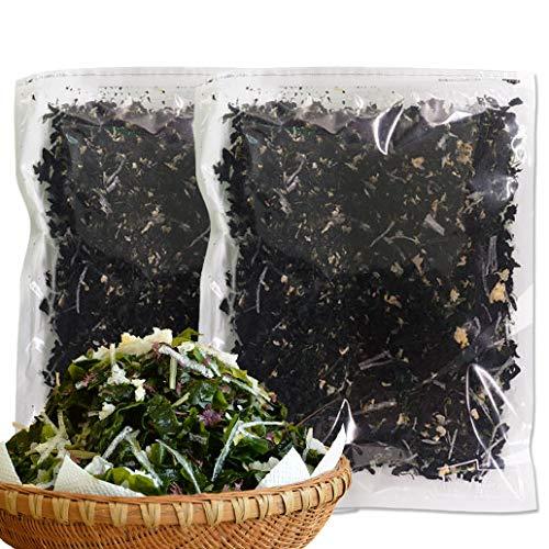 海藻 寒天海藻サラダ メガ盛260g×2(4人家族約2ヶ月分) 味噌汁の具 湯戻し簡単 自然の館