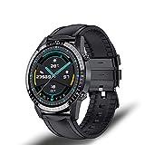 ZUEN I9 Nuevo Reloj Inteligente Modo Multi-Deporte De Los Hombres De La Frecuencia Cardíaca Llamada Telefónica del Bluetooth Reloj Inteligente Marca Impermeable Adecuada para Huawei Android iOS,D
