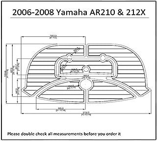 2006-2008 Yamaha AR210 & 212X Swim Platform Pad Boat EVA Teak Decking 1/4