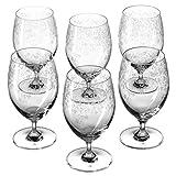 Leonardo Chateau Wasser-Glas, Saft-Gläser mit Stiel, spülmaschinenfeste Trink-Gläser, 6er Set, 380 ml, 061620