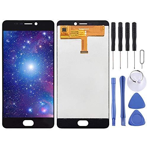 Dongdexiu Piezas de Repuesto del teléfono Celular Pantalla LCD y Conjunto Completo de digitalizador for Elephone P8 (Color : Black)