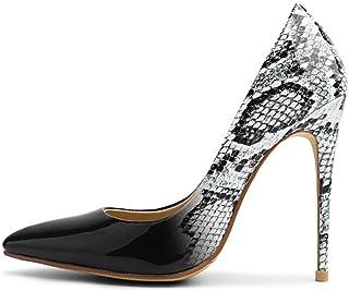 código promocional a37c5 473d8 Amazon.es: estampado serpiente - Zapatos de tacón / Zapatos ...
