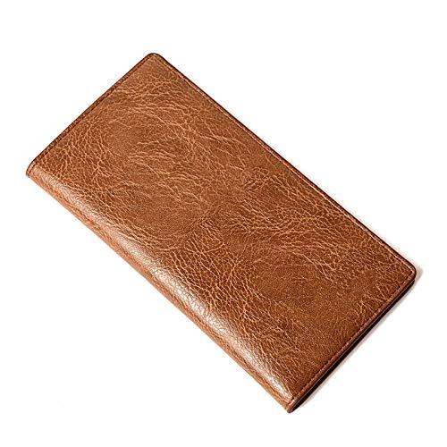 BECCYYLY Herr plånbokslånga pengar plånbok flera män plånböcker affärsmärke korthållare myntväska män handväska kopplingsväskor Minimalism