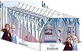 Disney Frozen- Set bisuteria en cdu 10pzas 2 Joyería y Maquillaje, Multicolor, única (Kids WD20777)