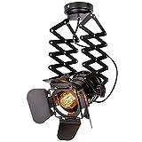 Hobaca® E27 / E26 Loft de hierro industrial Foco Vintage luces de techo Nordic colgante de luz de pared luces Home Lighting 48DB