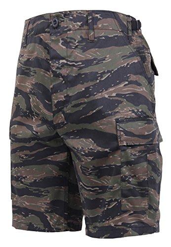Price comparison product image Rothco Camo BDU Shorts,  Tiger Stripe Camo,  S