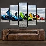 KOPASD Pack of 5 Artwork Canvases Paintings