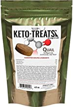 Ketogenic Pet Foods KETO-TREATS - High Protein, High Fat, Low Carb, Starch-Free Dog and Cat Treats