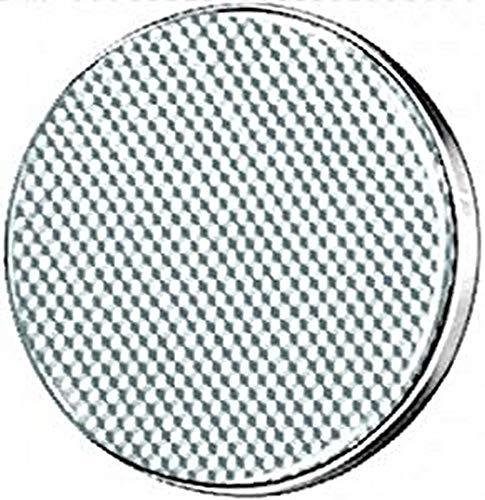 HELLA 8RA 002 016-101 Rückstrahler - Lichtscheibenfarbe: weiß - rund - Anbau/geschraubt - vorne