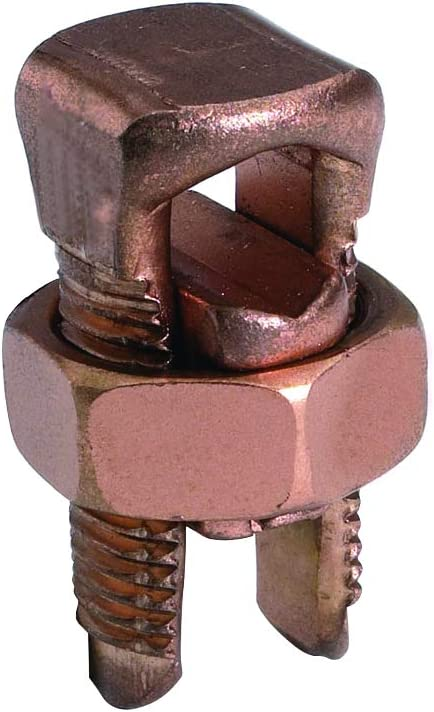 Regular store Burndy KS90 High Copper Alloy NEW before selling ☆ Split-Bolt SERVIT 12-10 AWG