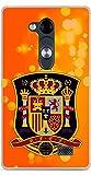 Soft TPU Gel Case for LG L Fino Spanish Football Design