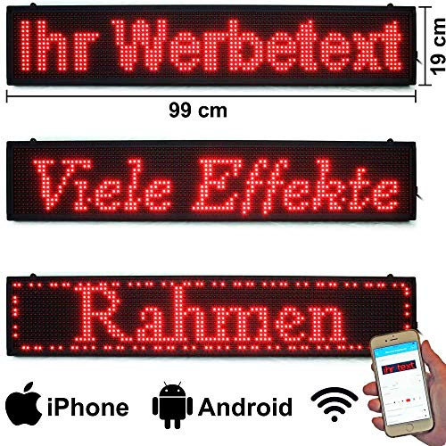 11 x 44 OE Programmierbare LED Digitales Scrollen Nachrichtenname Tag-ID-Badge