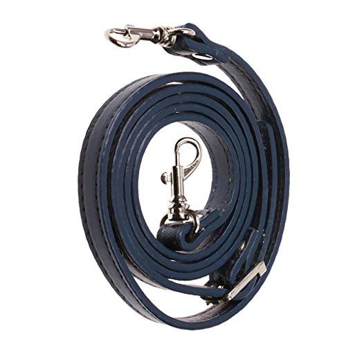 PU-Leder Ersatz Trageriemen Schulterriemen Schultergurt Tragegurt für Handtaschen, 120cm - Blau