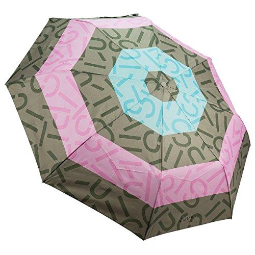 Regenschirm Supermini und Tasche Shopper Esprit Rosa